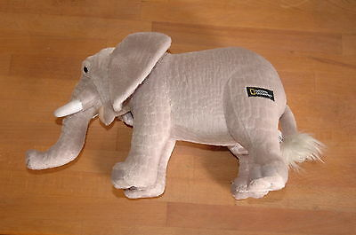 * Peluche Elephant National Geographic 25 Cm