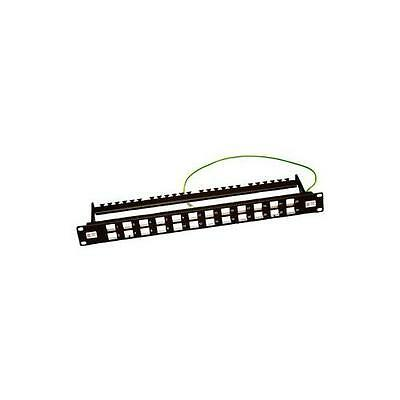 GA11620 009-010-010-00 Connectix Cabling Patch Panel 24 Way Unloaded Shielded