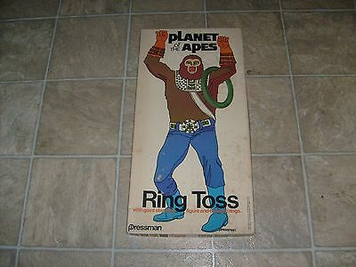 RARE VINTAGE 1974 POTA PLANET OF THE APES RING TOSS GAME By PRESSMAN 1974 BOXED
