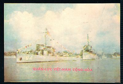 S. Vietnam – Old Navy postcard ( QLVNCH) (before 1975)