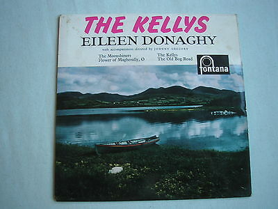 "EILEEN DONAGHY The Kellys EP UK 7"" PS 1960 ex/ex minus"