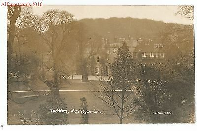 Bucks High Wycombe The Abbey Real Photo Vintage Postcard