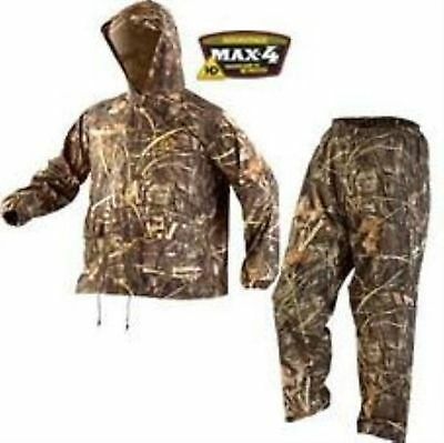Stearns Camouflage Rain Suit Large New Adavantage MAX-4