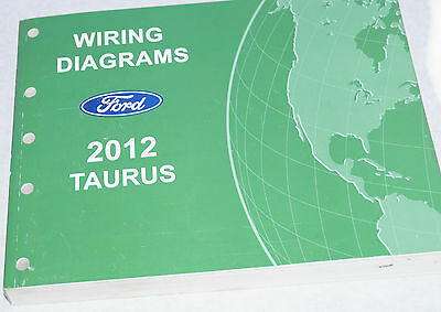 2012 AUTHENTIC Ford Taurus Factory Wiring Diagrams Service Manual