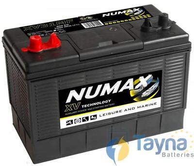 Numax XV31MF CXV31MF 105Ah High Capacity 12V Sealed Marine & Leisure Battery