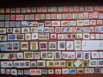 Canada Candian BE BC Collection of Vintage and Other Used Stamps