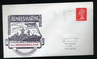 1960's Cachet Shipping Cover Meersburg A1418