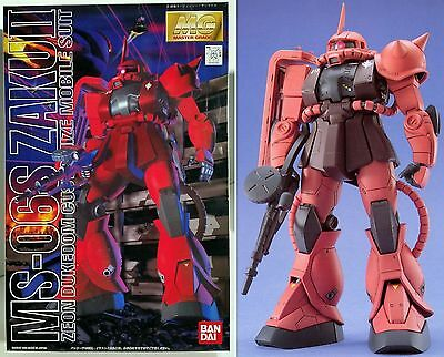 MS-06S Char`s Zaku II Master Grade 1/100 MG Bandai Gunpla Model Kit