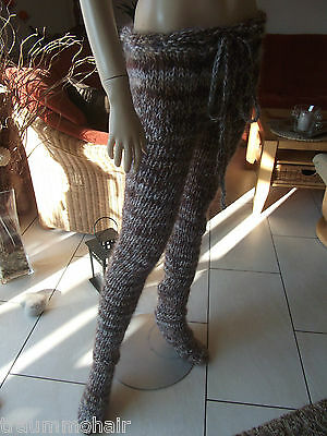 TRAUMMOHAIR Langhaar + Kid Mohair Hose Strumpfhose Tights Leggins UNIT SIZE NEU