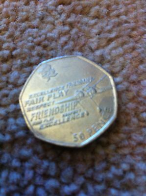 London Olympic 2012 50p Coin Limited Edition ROWING
