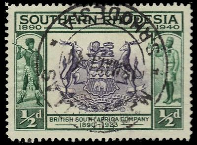 SOUTHERN RHODESIA 56 (SG53) - Seal of the British South Africa Co. (pa82880)