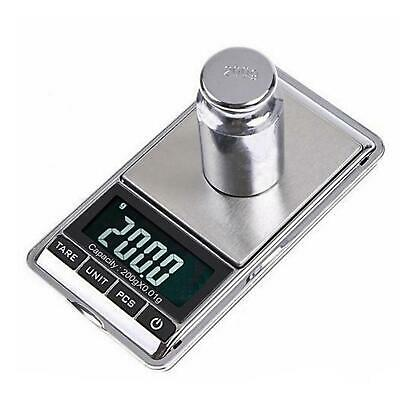 Pocket Scales Electronic Mini Digital Gold Jewellery Weighing 0.1g to 1000 Grams