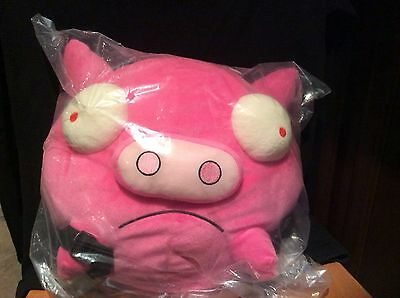 Invader Zim Plush Pink Pig Backpack Purse NWT 2011