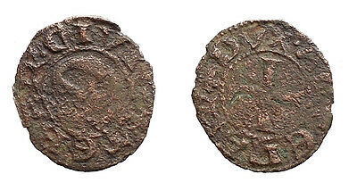 CRUSADERS, Frankish Dukes of Achaia. Gauthier de Brienne? Obol. Extremely rare.