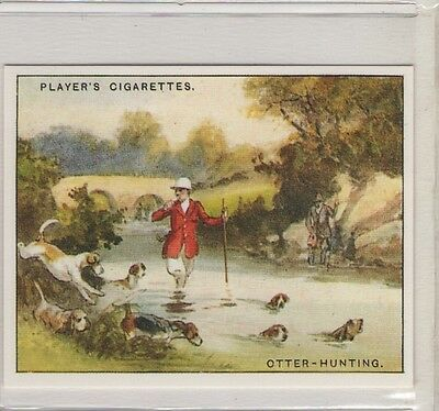 #13 Otter Hunting - Country Sports Lrg Reproduction Card