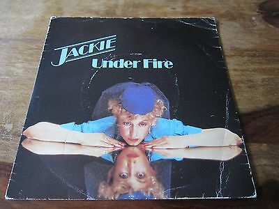 """Jackie - Under Fire - 1979 Uk Lost Disco Classic - 7"""" In Very Good + Con"""