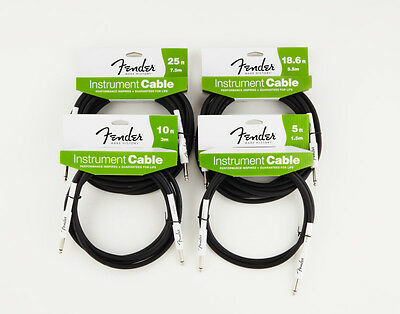 Fender Performance Series Instrument Jack Cable (Various Sizes Available)