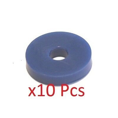 Pack of 10 Blue M6 Rubber Washers 6mm x 4mm x 20mm  UK KART STORE