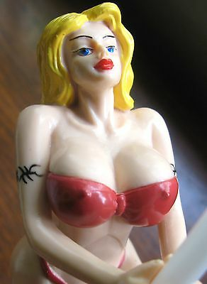 Sexy Car / Truck Antenna Topper Pole Dancer Doll Spins as You Drive  * BIG BOOBS