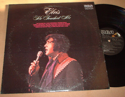 1972 Usa Elvis Presley Lp He Touched Me Rca Lsp 4690