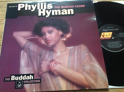 Phyllis Hyman  *    The Best Of  The Buddah Years  *   SEQUEL LP  *  Mint  *