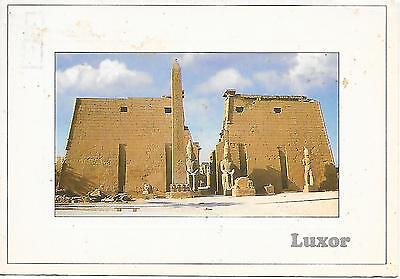 Egypt - Temple of Luxor - Posted Postcard