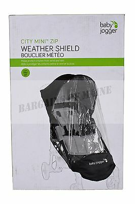 Baby Jogger Accessory Weather Shield for City Mini Zip Single Stroller BJ92351