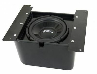 "SSV Works Under Seat 10"" Subwoofer and Box Polaris Ranger XP 900 / RG3-USSB10"
