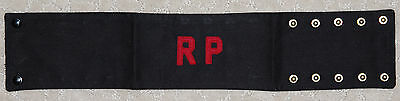 Canadian Military RP-Regimental Police Arm Band/Brassard-United Carr 1954