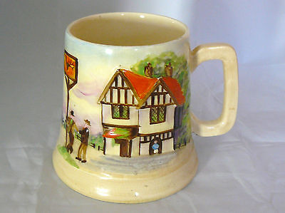 MUSICAL TANKARD - 1/2 Pt - ANOTHER LITTLE DRINK WONT DO US ANY HARM - Very Good