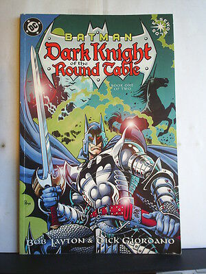 GRAPHIC NOVEL: BATMAN - DARK KNIGHT OF THE ROUND TABLE - BOOK 1 - Paperback 1999