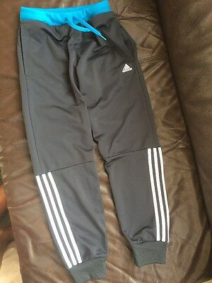 Girls adidas tracksuit bottoms size age 11-12 years