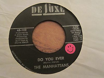 """The Manhattans - Do You Ever - 1973 Us Soul 7"""" Minor Us Chart Hit - Vg + Con"""