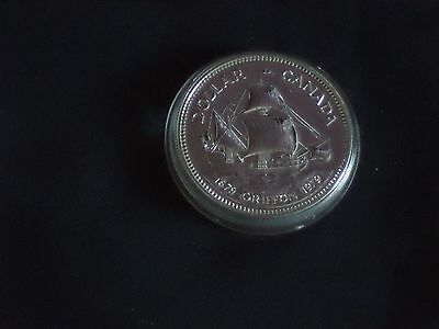 "1979 CANADA  SILVER ONE DOLLAR COIN  ""GRIFFON' Bi-Centenary  IN MINT CONDITION"