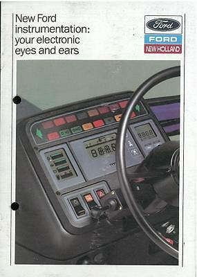 Ford Tractor Instrumentation - Your Electronic Eyes and Ears Brochure