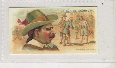 #15 Sieur De Grammont - Pirates Of The Spanish Main Reproduction Card