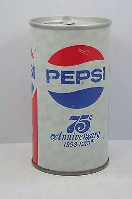 Vintage 1973 Pepsi 76 Year Anniversary Can - Empty - Sealed