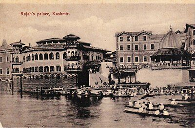 Kashmir - Rajah's Palace - post card