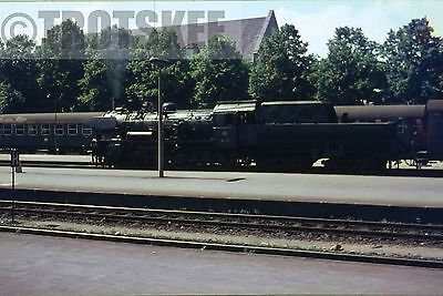 35mm Slide DB West Germany Railways Steam Loco 38 3797 1965 Original Deutsche