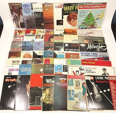 Vintage Record Lot of 57 - Excellent Condition - Big Band Jazz & More!