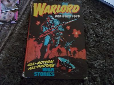 Warlord Annual 1978 Good Condition