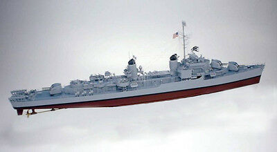 Giant 1/96 Scale USS Gearing Class Destroyer Plans, Templates, Instructions