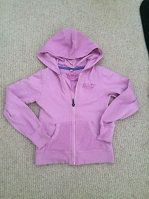 FIRE TRAP GIRLS PURPLE HOODED TOP, AGE 4-5 yrs old (6-7 on label), VGC, L@@K****