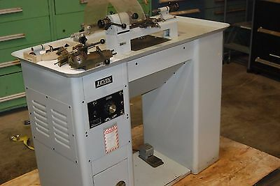 Levin Lathe Type 071202, Jewelers Watchmakers Precision Lathe, Comes with Extras