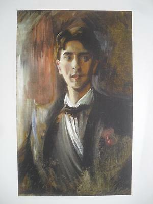 Print of Oil Painting Portrait of a Young Man