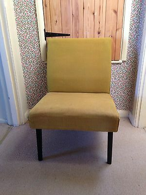 Vintage Cintique Chair. Retro Design and Very Comfortable. 60s.