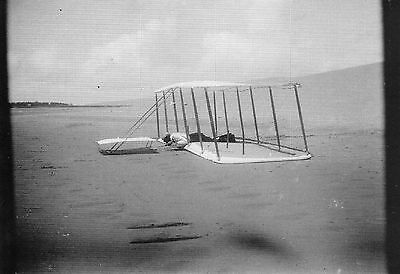 WILBUR WRIGHT UK Promo postcard Wright Brothers Orville