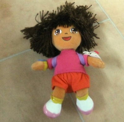 Ty Beanie Babies Dora The Explorer Exploring Soft Toy/Cuddly/Collectable