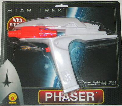 New Star Trek Movies Rubies Hand Phaser Toy 2009 MINT ON CARD