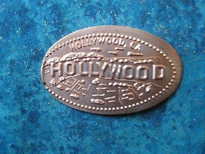 HOLLYWOOD CA Elongated Penny Pressed Smashed 5K